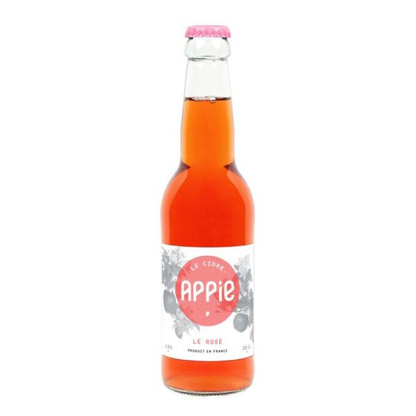 cidre rosé appie cidre naturel bio epicerie maurice angouleme