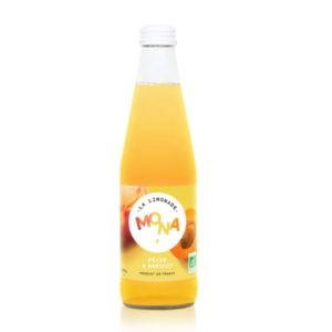 limonade bio peche abricot mona epicerie maurice angouleme